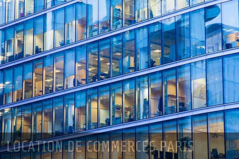 Location commerce Paris