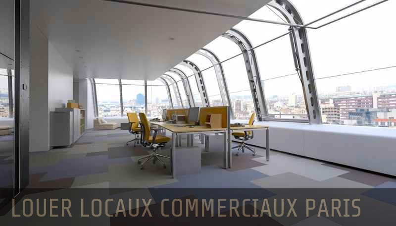 Location local commercial Paris